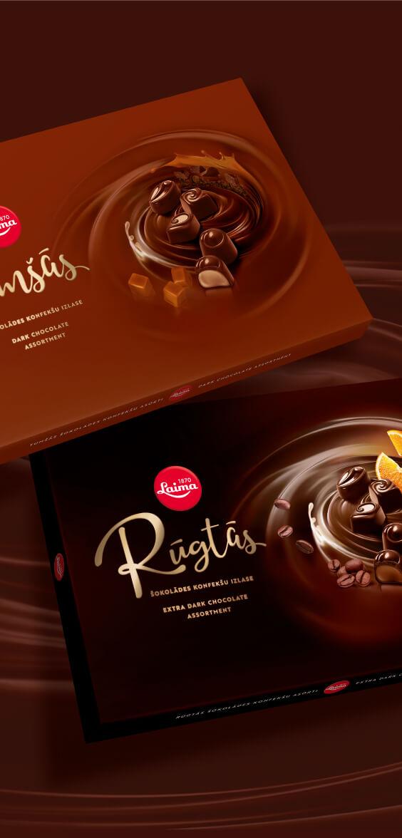 Laima Asorti - packaging design