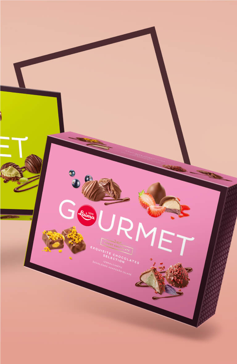 Laima Gourmet - packaging design