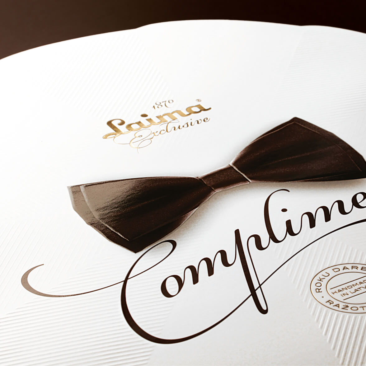 Laima Compliments - packaging design