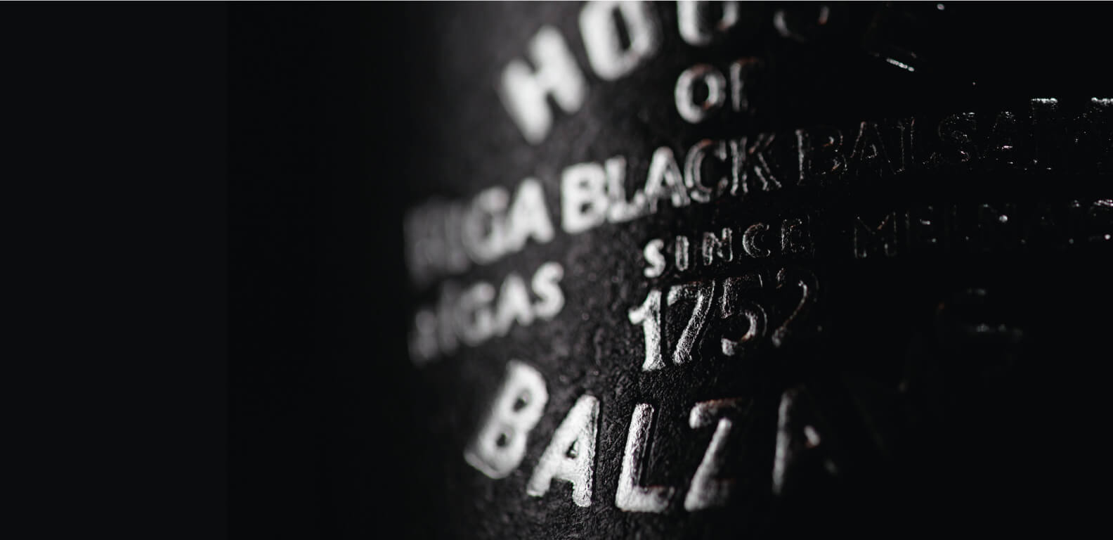 Riga Black Vodka - label design