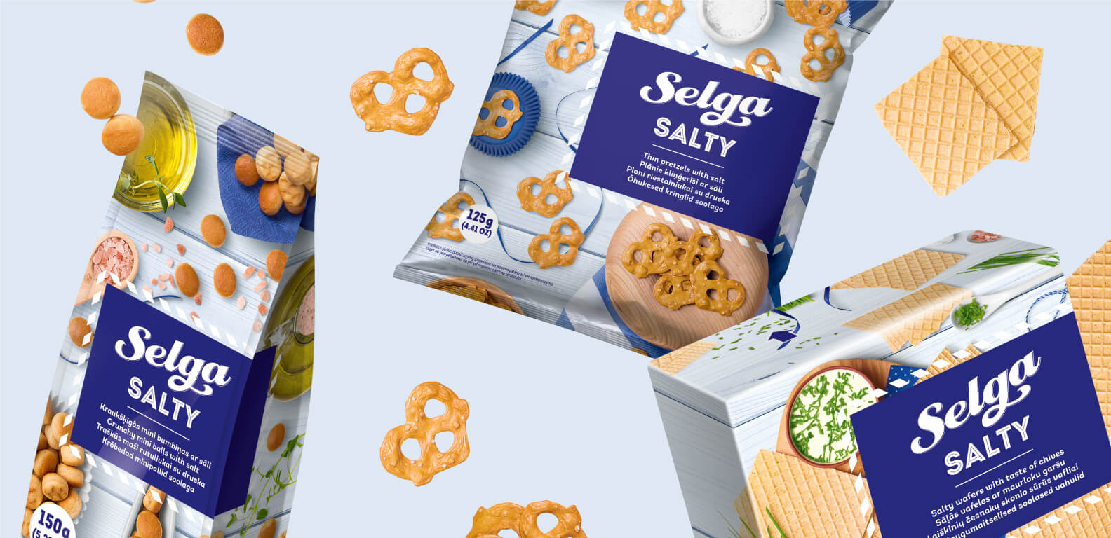 Selga Salty - packaging design