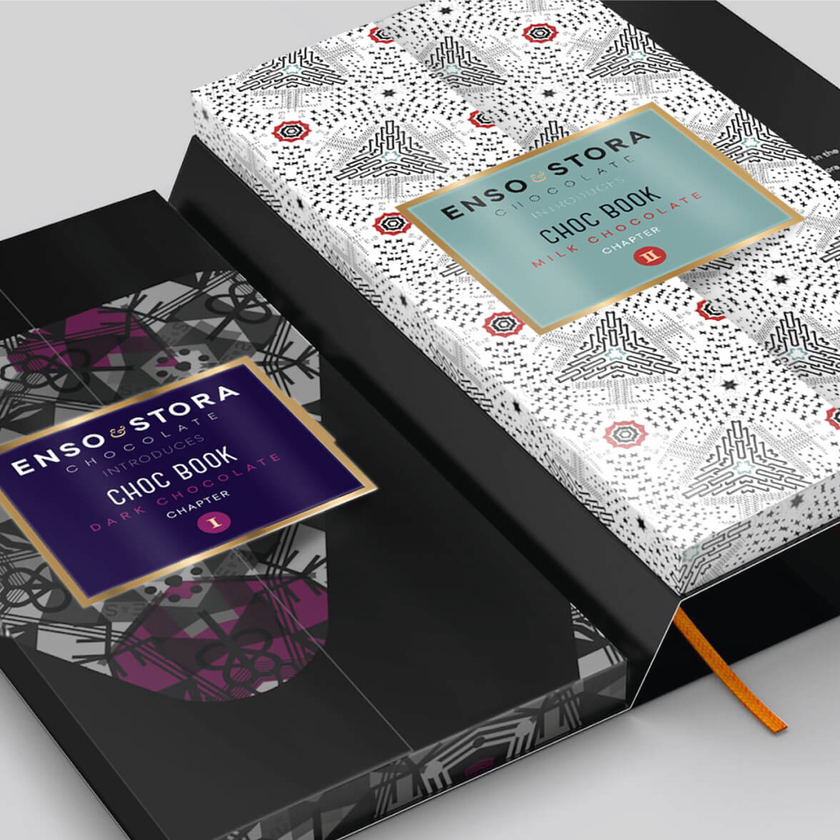 Stora Enso Choco Book - packaging design