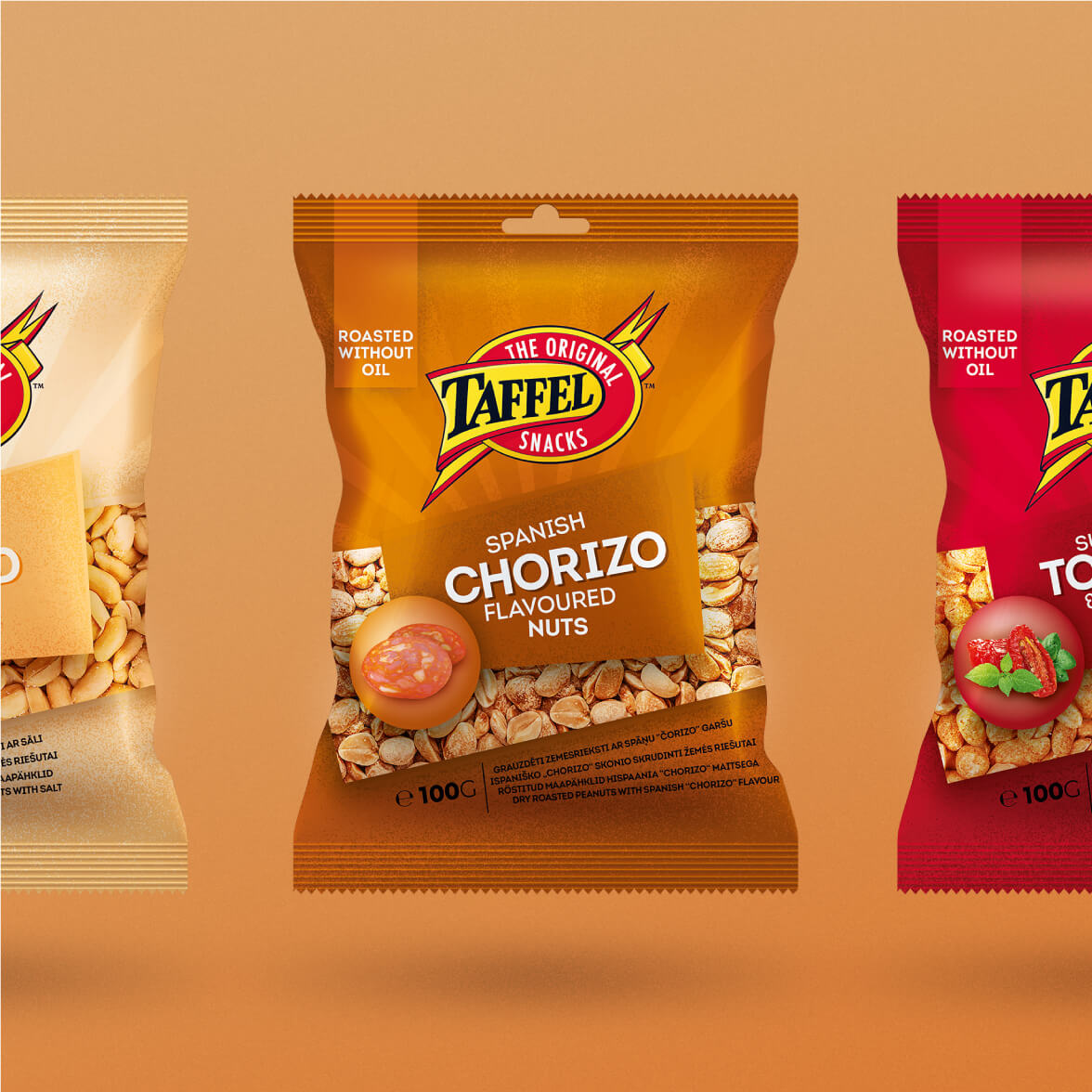 Taffel Nuts - packaging redesign