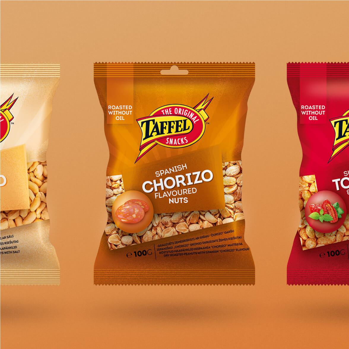 Taffel Nuts - packaging redesign