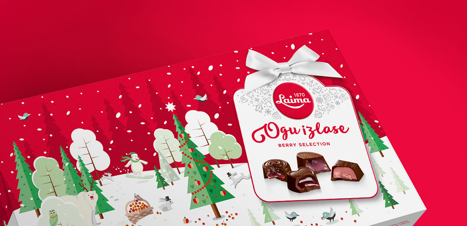 Laima Christmas 2016 - packaging design