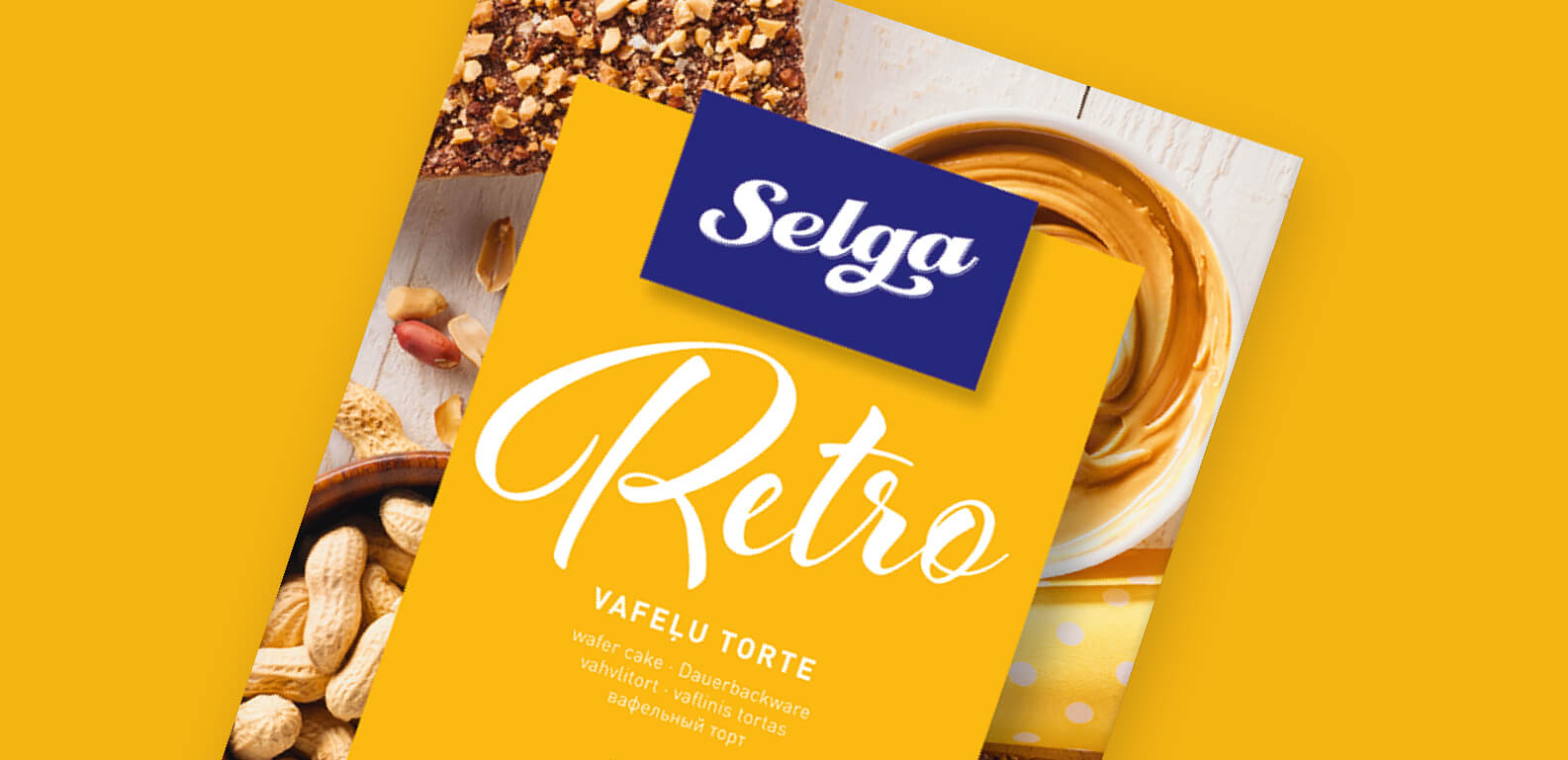 Selga Wafflecake - packaging design