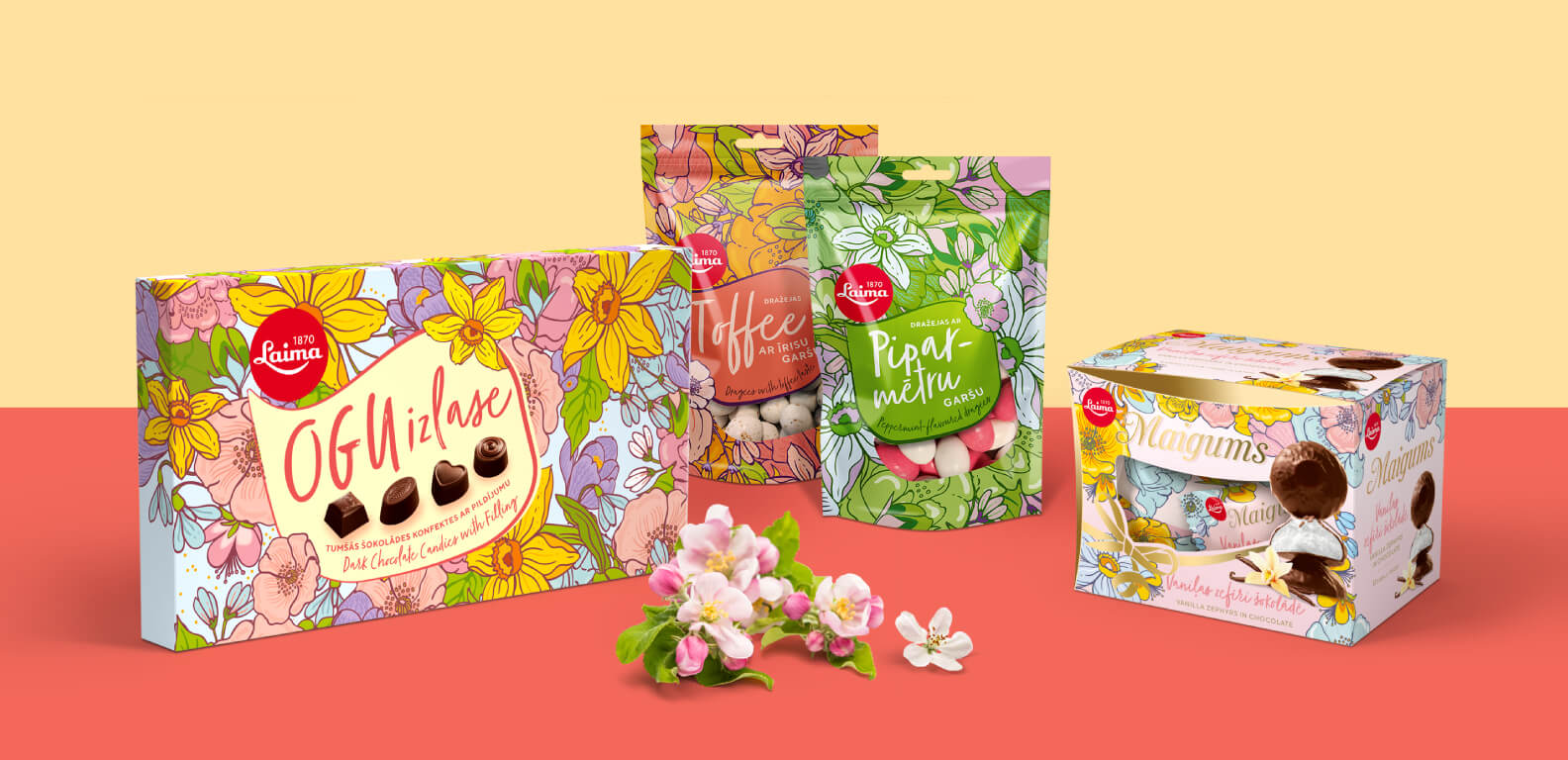 Laima Spring 2018 - packaging design