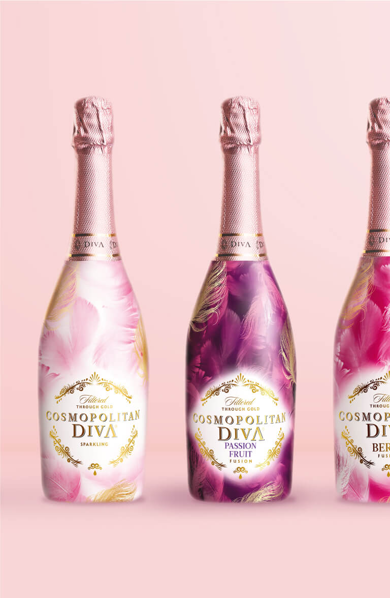 Cosmopolitan Diva - packaging design