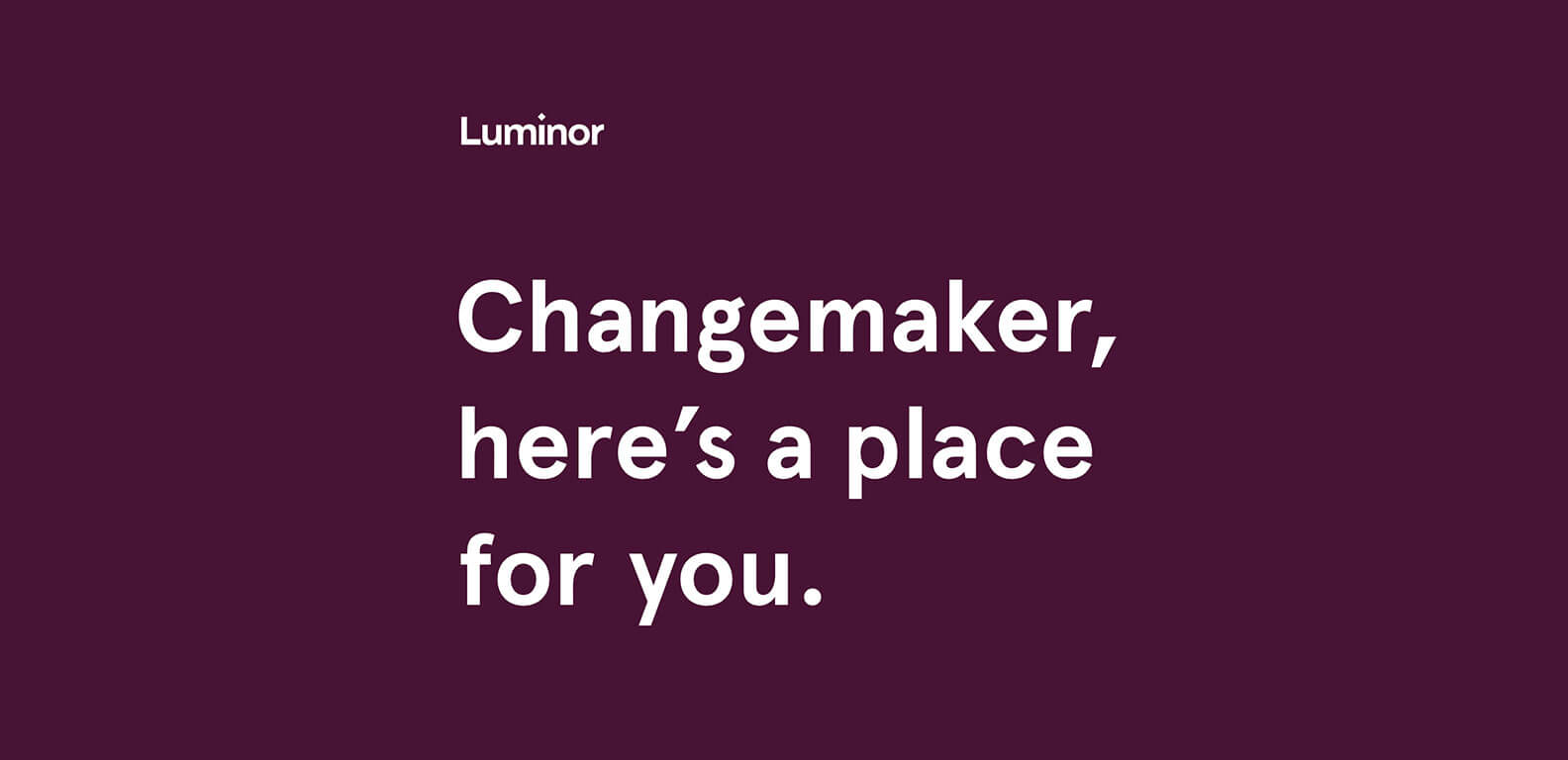 Luminor - recruitment platform