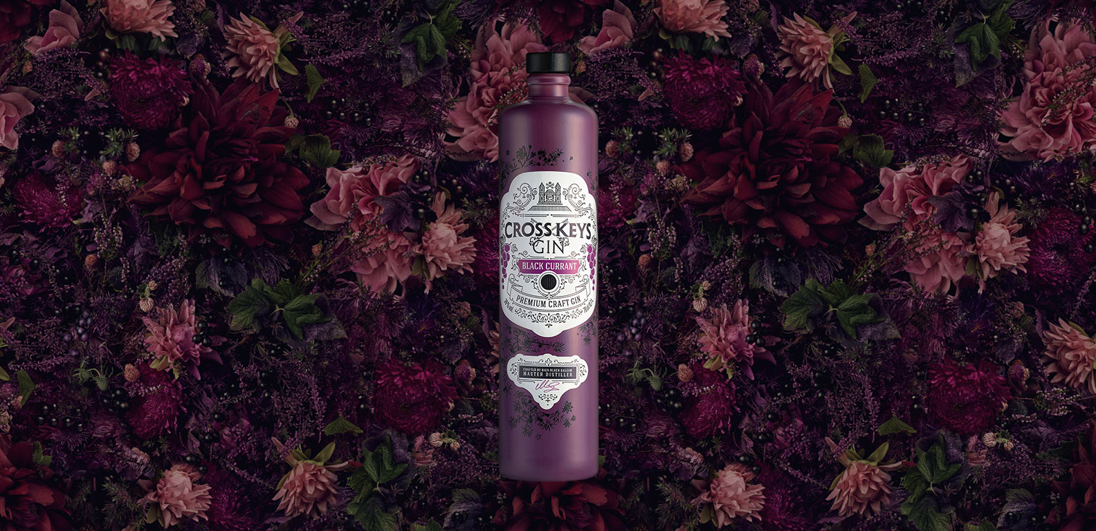 CrossKeys Black Currant - packaging design and web