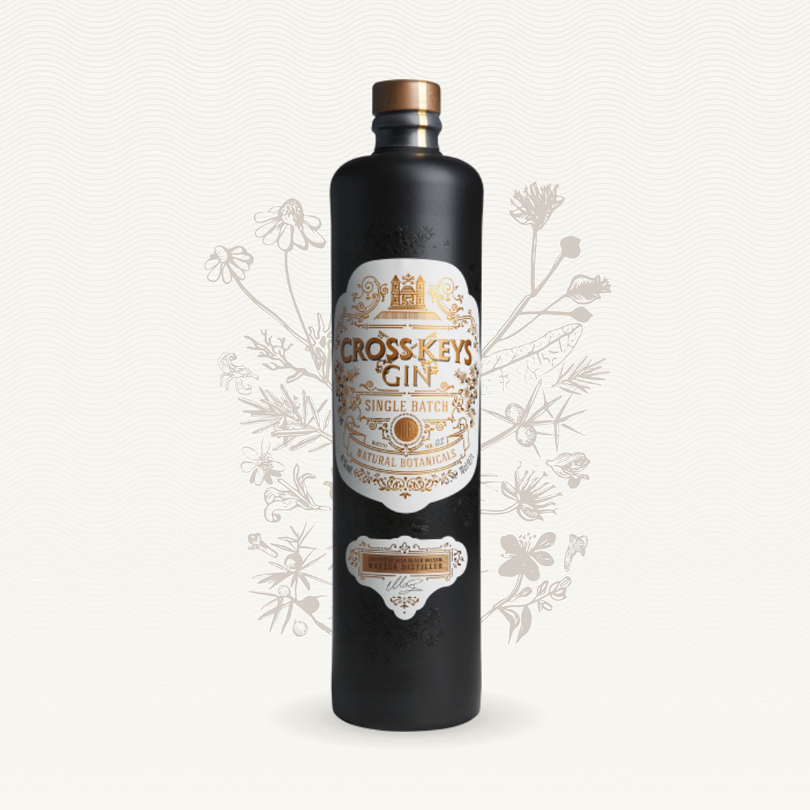 Cross Keys Gin - web