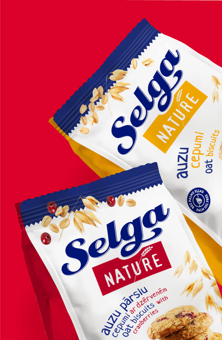 Selga Nature - packaging design