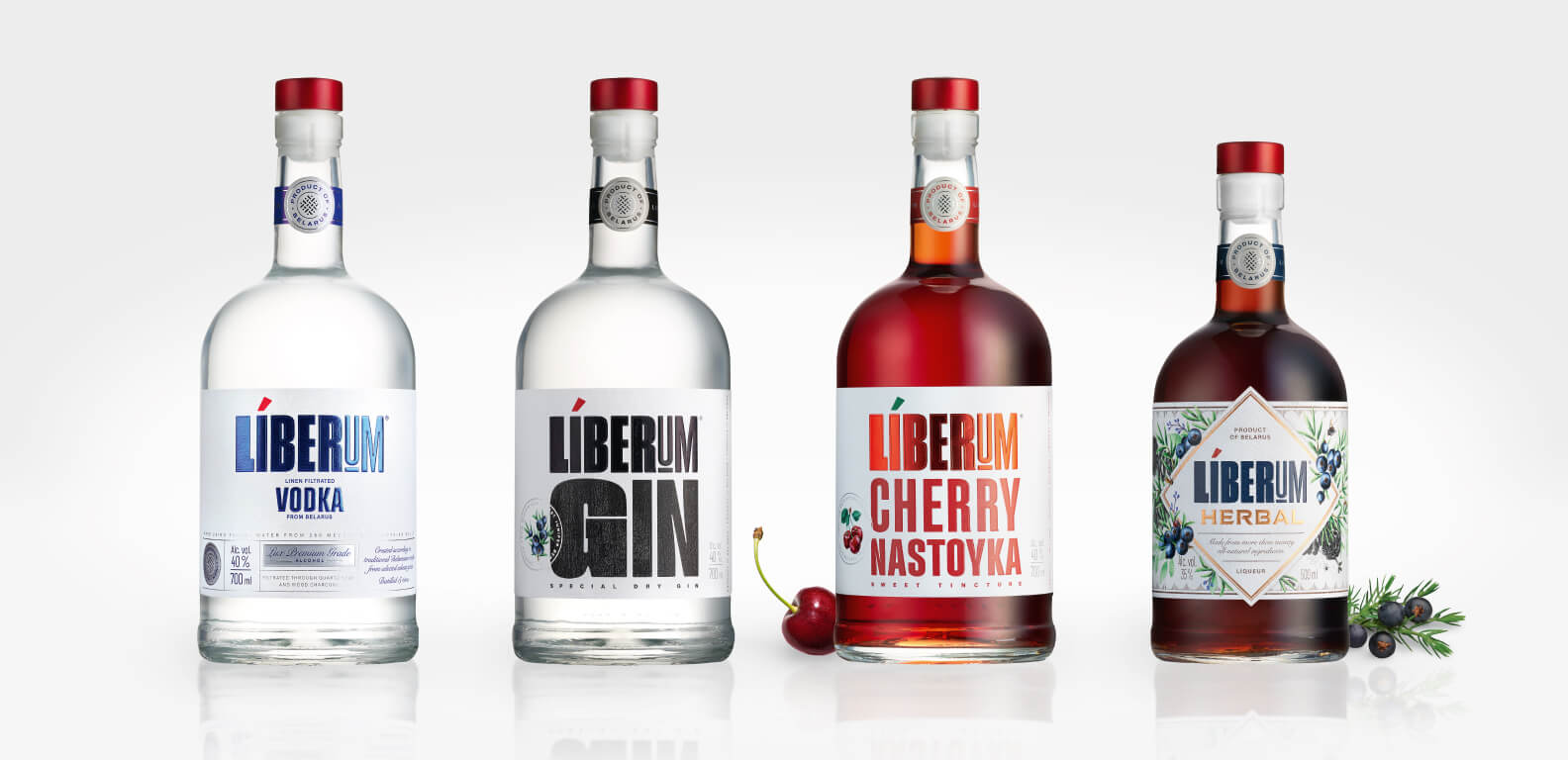 Liberum - bottle and label design