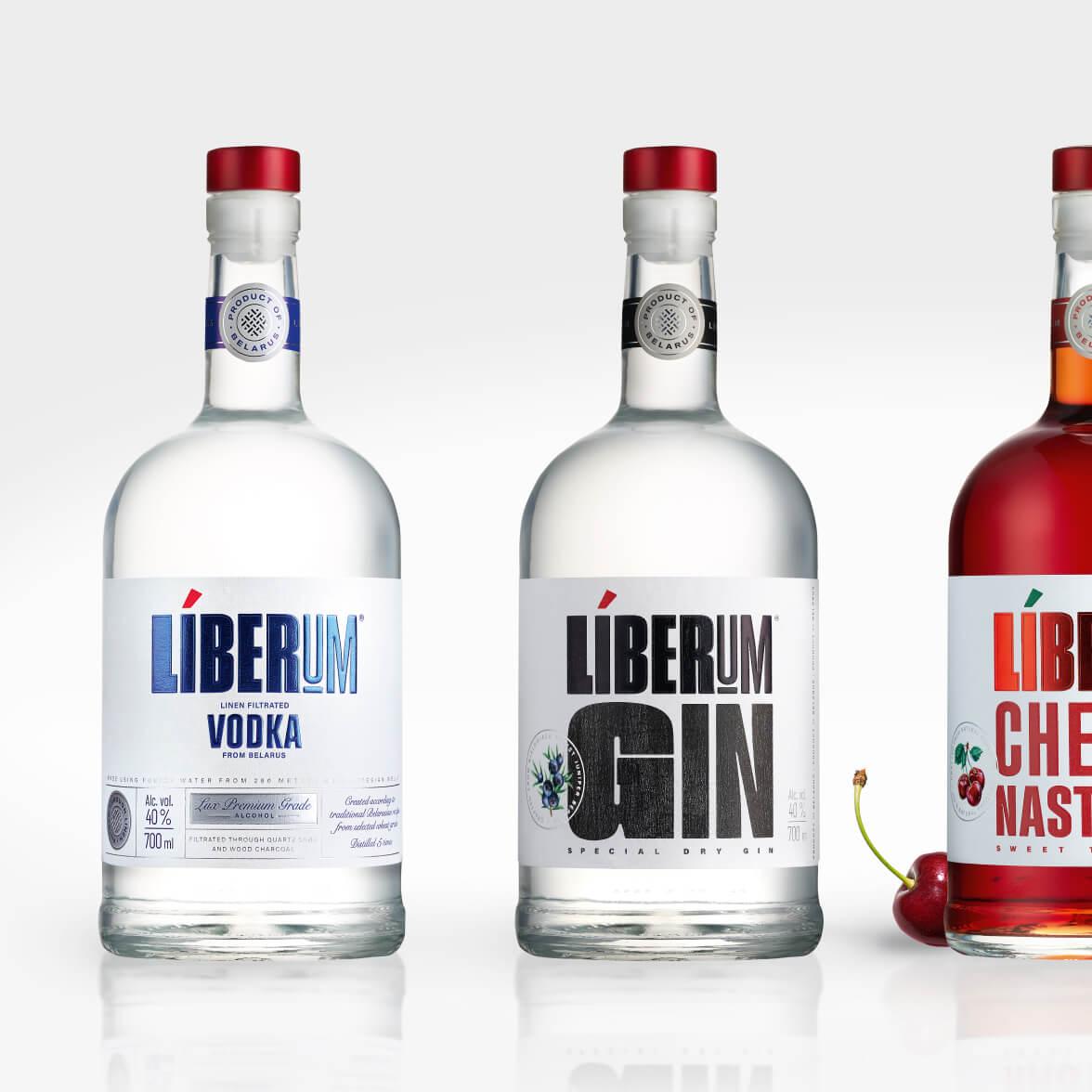Liberum - bottle and label design