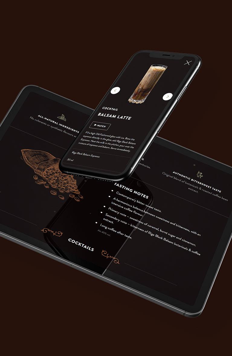 Riga Black Balsam - web