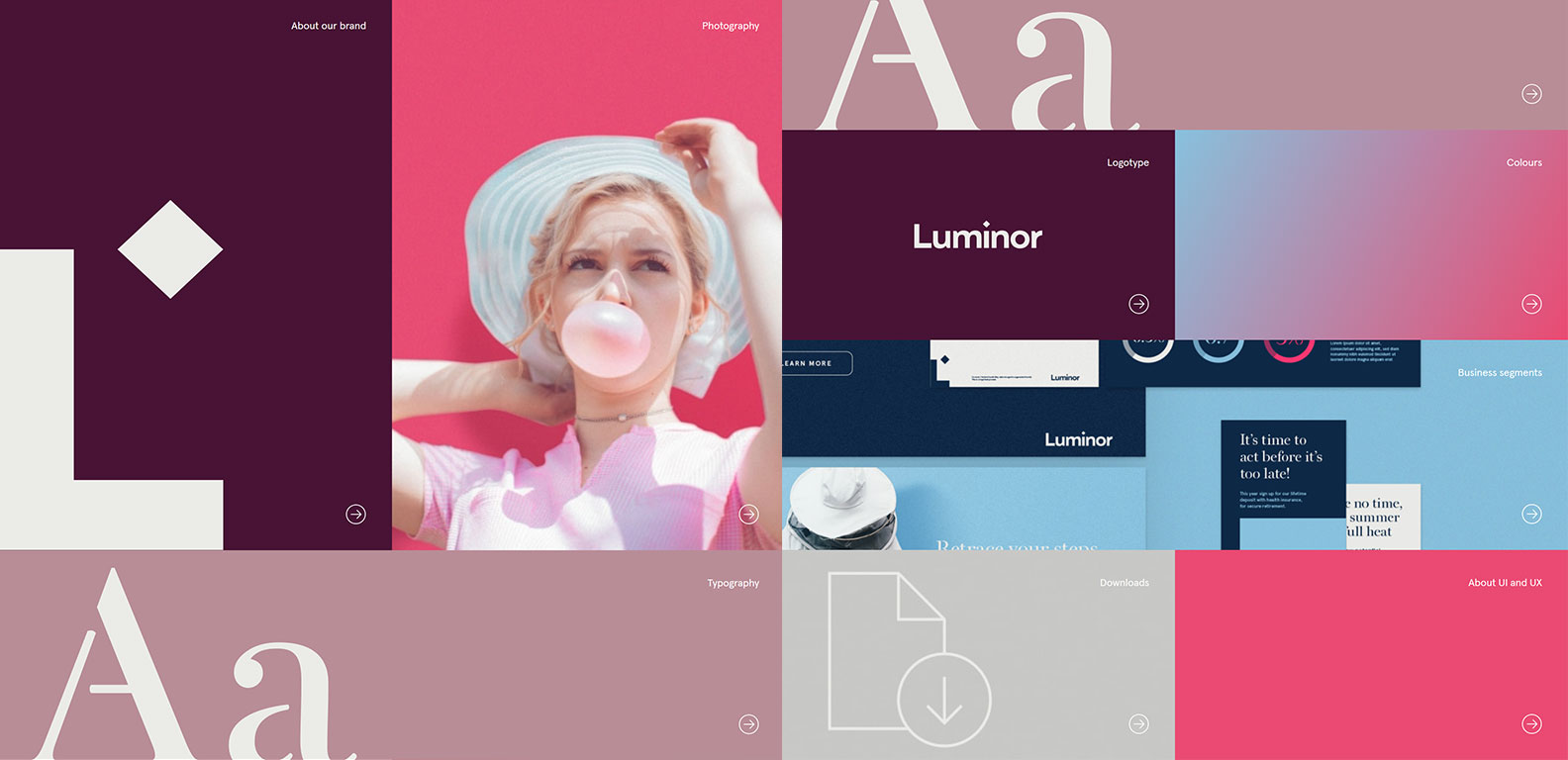 Luminor - digital stylebook