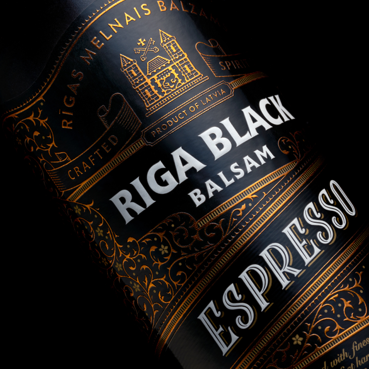 Riga Black Espresso - packaging